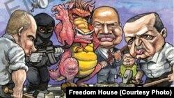 Líderes políicos depredam a liberdade de imprensa