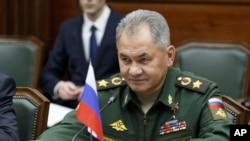 Rusiyanın müdafiə nazri Sergey Şoyqu