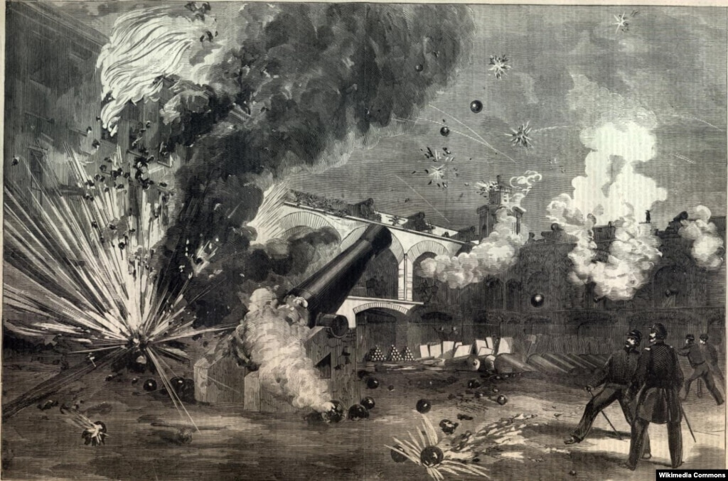 a history of attack on the union fort While the fort easily repulsed the union gunboat attack,  this battle was the second time in history new rifled  which enabled fort macon state park to .