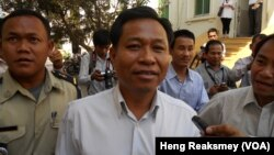 Chhouk Bandith, the former city governor who fired into a crowd of demonstrators in 2012, injuring three women, has been apprehended.