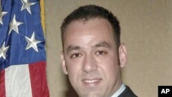 US Immigration and Customs Enforcement Special Agent Jaime Zapata - pictured in this handout released February 16, 2011 - was shot and killed in the line of duty in Mexico on February 15 (file photo)