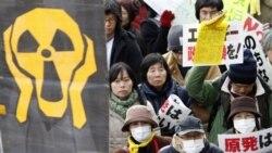 تظاهرات مخالفان انرژی اتمی در ژاپن