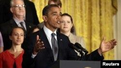 Presiden AS Barack Obama menyerukan Kongres AS agar memperpanjangan kebijakan pemotongan pajak bagi kelas menengah Amerika (9/7).