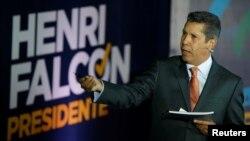 El candidato presidencial venezolano Henri Falcón dice que está dispuesto a recibir ayuda humanitaria del exterior si gana las elecciones del 20 de mayo próximo.