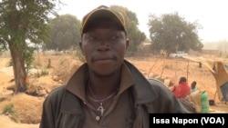 L'orpailleur Yaya Traoré, alias Koroba (VOA/Issa Napon)