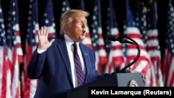 Donald Trump ni prezida w'Amerika