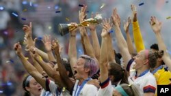 ABŞ-ın qadınlardan ibarət milli futbol yığması dünya kubokunu qazandı.