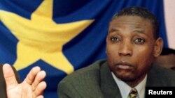 Henri Mova Sakanyi, secrétaire-général du parti au pouvoir en RDC, le Parti du peuple pour la reconstruction et la démocratie (PPRD)
