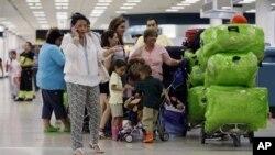 میامی انٹرنیشنل ایئرپورٹ پر کیوبا جانے والے مسافر