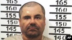 Gembong Narkoba Meksiko yang paling di cari, Joaquin 'El Chapo' Guzman. Almolaya, Mexico (foto: dok.)