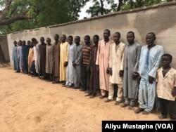 Mayaka da kwamandojin kungiyar Boko Haram da rundunar 'yan sandan Najeriya ta kama.