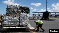 新西蘭的救援物資抵達瓦努阿圖