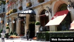 Sevil Əliyevanın yaşadığı evin giriş qapısı (Foto RUE89LYON saytından götürülüb)