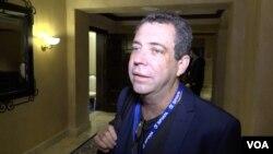 """Juan Carlos Planells, Gerente General de """"La Prensa"""" de Panamá, en la 75 Asamblea General de la SIP. Foto: Antoni Belchi - VOA."""