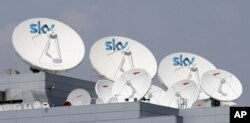 فرستنده های شبکه اسکای