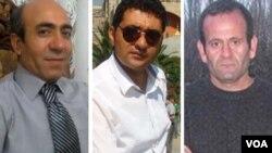 Həbib Mənafi Azər, Cavad Sudbər və Yusuf Muxtari