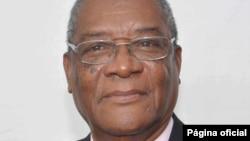 Evaristo Carvalho, vice-président de l'ADI et candidate victorieux de l'élection présidentielle à Sao Tomé-et-Principe.