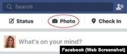 Facebook Status Photo