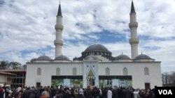 مسجد و مرکز اسلامی دیانت در شهر لنهام ایالت مریلند امریکا