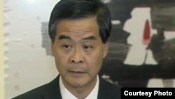Leung Chun-ying, commonly known as CY Leung, chief executive of Hong Kong.