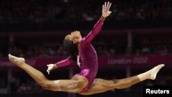Gabrielle obtuvo 62.232 puntos en la sumatoria de las cuatro pruebas que se realizan en gimnasia artística.