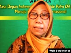 Diah Suriadiredja, Yayasan Kehati. (Foto: VOA)