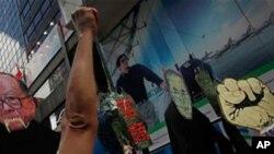 반정부 시위대
