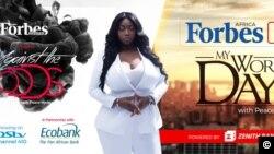 Peace Hyde, une des figures les plus emblématiques de cette génération, s'est imposée jusqu'à devenir responsable des médias digitaux et des partenariats de la filiale Afrique de Forbes.