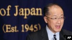 世界銀行總裁金墉 (資料照片)