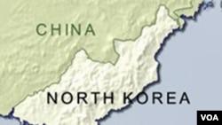 Peta Korea Utara dan Korea Selatan