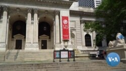 Famous NYC Public Library Lions Put on Masks