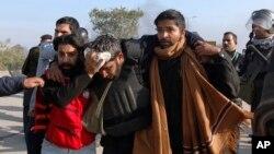 مسئولان صحی میگویند اکثر زخمی شدگان، سربازان پولیس اند