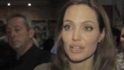 Na sarajevskom filmskom festivalu, Angelina Jolie s mladim umjetnicima