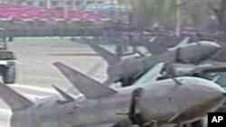 열병식에 등장한 이란 미사일 (자료사진)