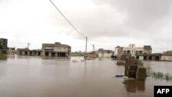 Dakar sous les eaux, le 7 septembre 2020.