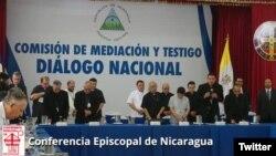 La Conferencia Episcopal insta al presidente Daniel Ortega a convocar a elecciones anticipadas para marzo del 2019