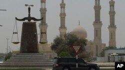 نماد عدالت در راسالخیمه در امارات متحده عربی - عکس از آرشیو