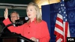 'Yar Takarar Da Ake Sa Ran Jam'iyyar Dimukrat Za Ta Tsayar Takara, Hillary Clinton