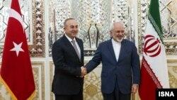 دیدار وزیران خارجه ایران و ترکیه در تهران