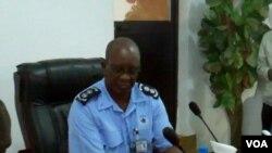 Comandante provincial da polícia António José Bernardo
