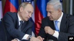 Putin û Netanyahu.
