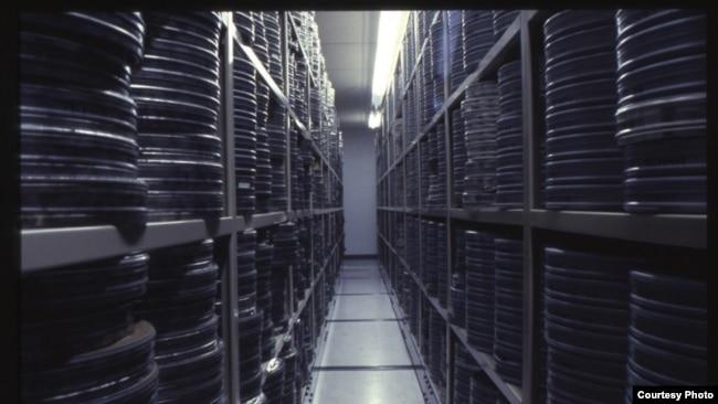 Кинохранилище музея. Фото предоставлены музеем Джорджа Истмана