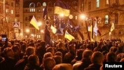 Manifestation en Ukraine