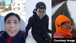 Beatrix Stein, Pambayun Savira, dan Lynn Terpin menceritakan pengalaman mereka tinggal di Midwest.