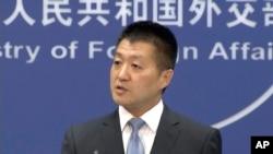 中國外交部發言人陸慷。 (資料照片)
