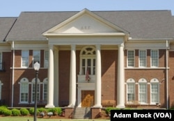 The Delta Kappa Epsilon fraternity house at the University of Alabama.