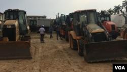 Angola Benguela tractores