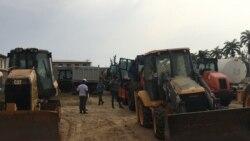 Benguela: Maquinaria apreendida em investigação devolvida a construtora -1:04