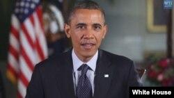 美國總統奧巴馬每週演說呼籲牢記為國捐軀的英烈(whitehouse.gov)