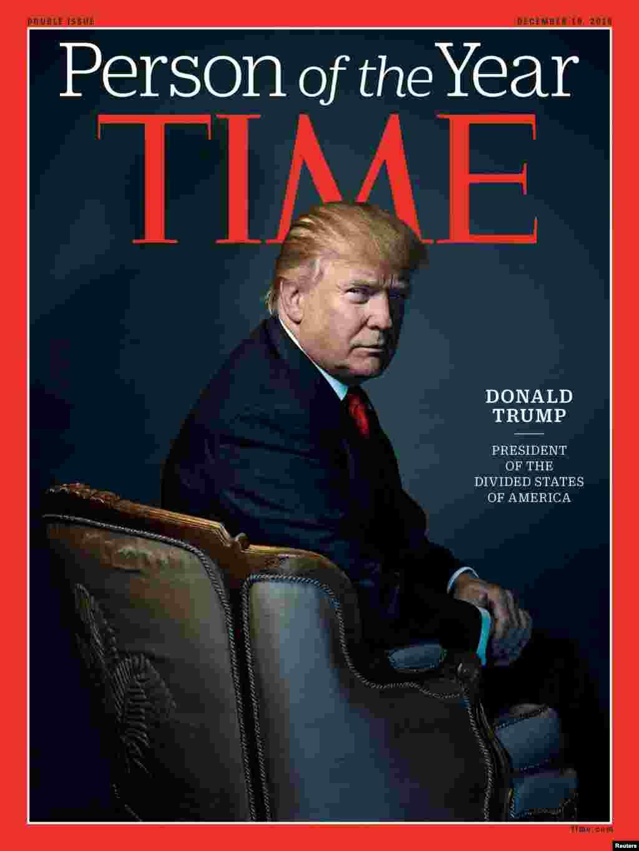 Time jurnalı Donald Trampı ilin adamı elan edib